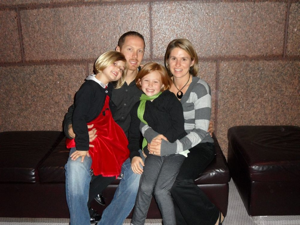 Josh, heather, hattie & grace - December 2011
