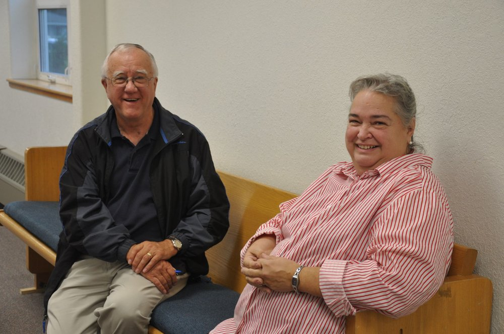 Larry & Sonja Redmond at SBC - Sept 2013