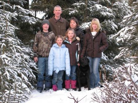 Swensen family - Nov 2011