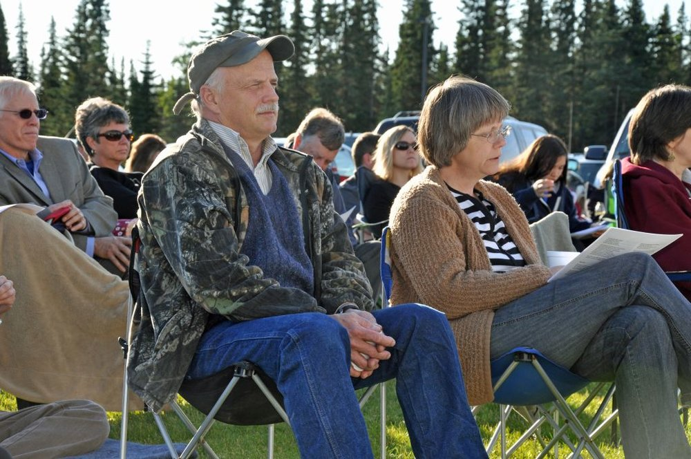 Bob & Joyce at SBC - Aug 2011