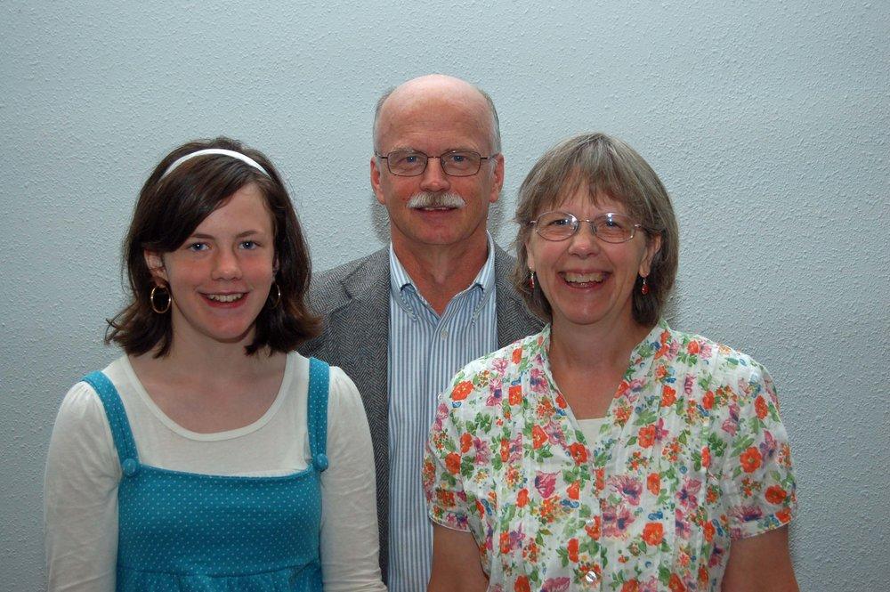 Bob, Joyce & Faith - July 2012