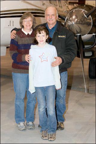Bob, Joyce & Faith - Aug 2008