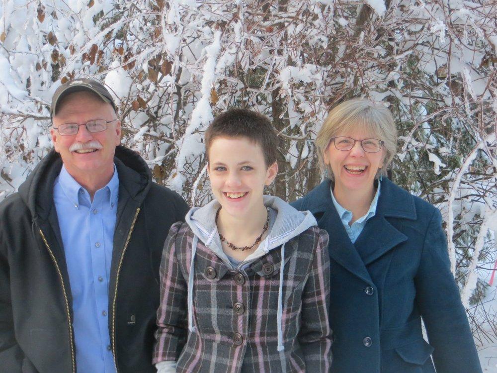 Bob, Joyce & Faith - Feb 2015
