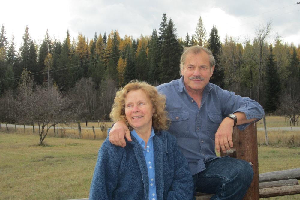 Mike & Kathleen - fall 2016