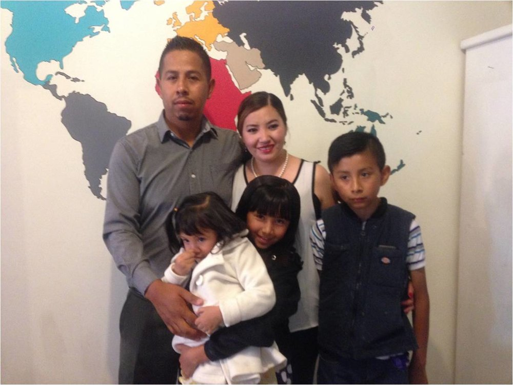 Jose Luis & family - 2017