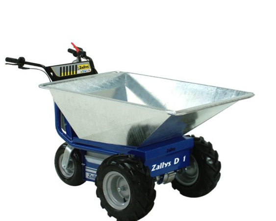 ZALLY'S DUMPER JET Battery-Powered Wheelbarrow
