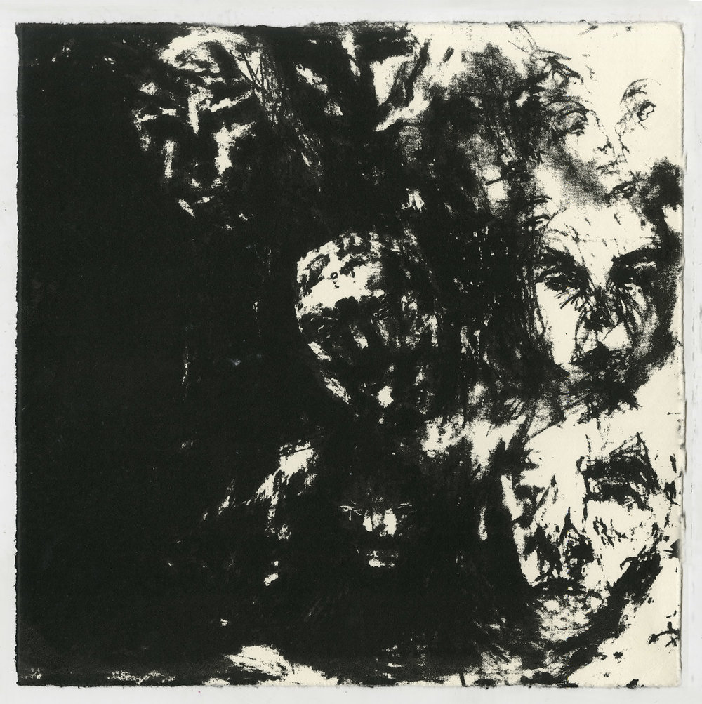 studio test II, 2015, silkscreened lithographic image, 20 x 20 cm
