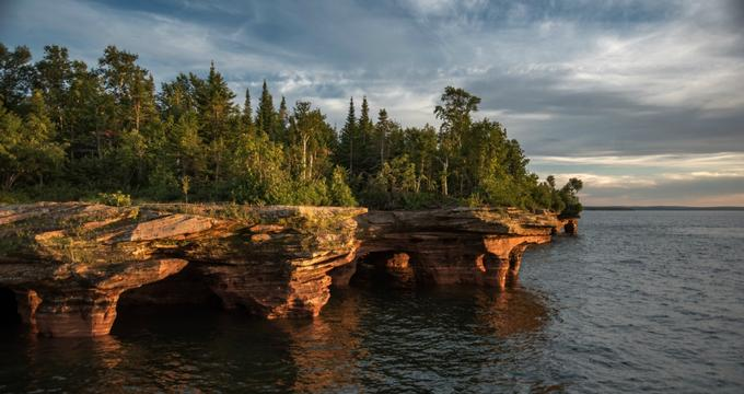 Apostle Islands in Bayfield, WI (source: www.vacationidea.com)