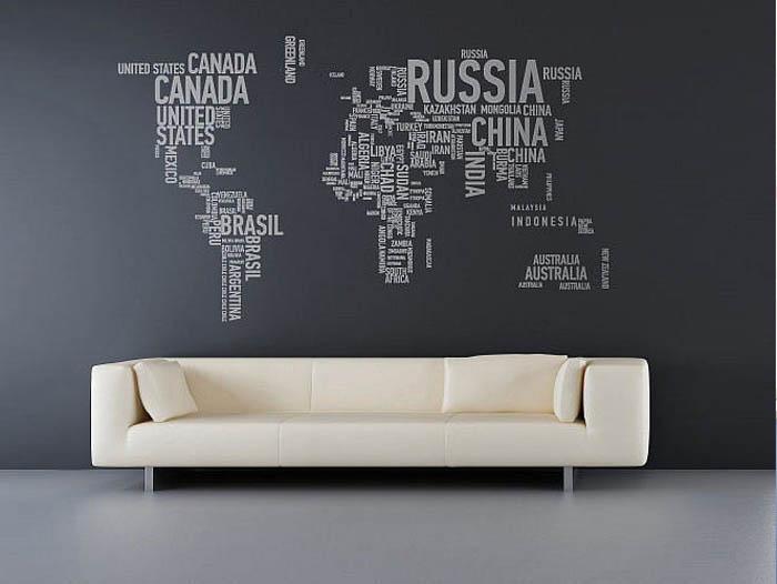 Word World Map
