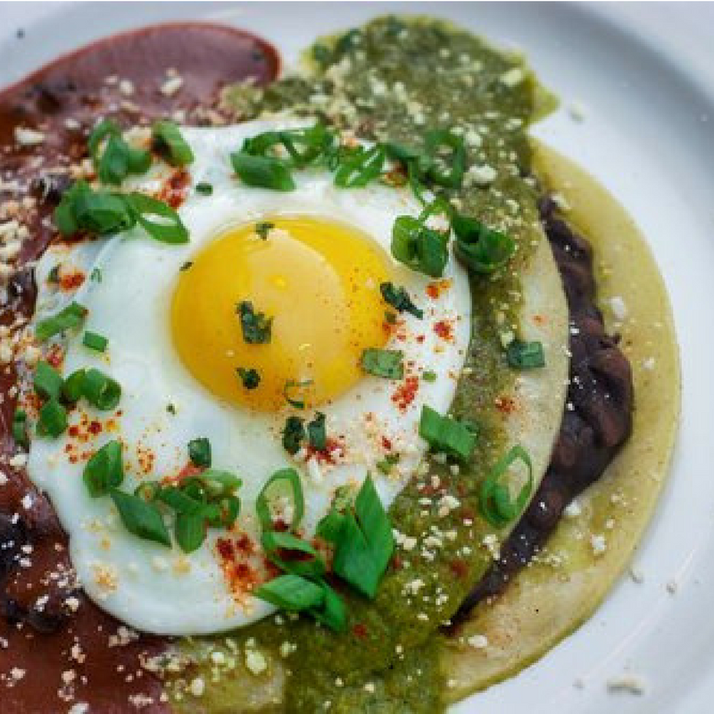 Huevos Rancheros Dish From Sunday Brunch