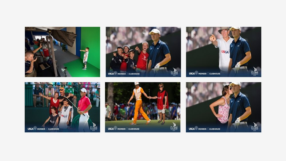 USGA: Branded Green Screen Experience