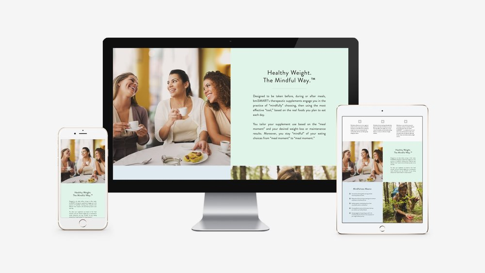 bmiSMART: Responsive Website