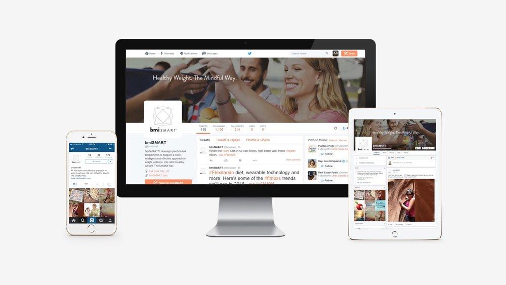 bmiSMART: Social Profile Branding