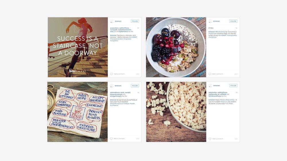 bmiSMART: Instagram Content Generation