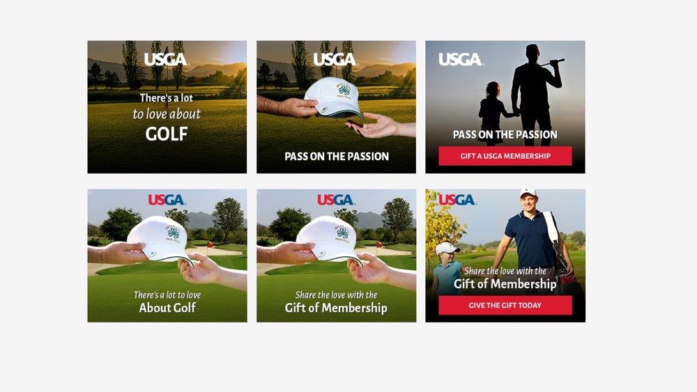 USGA: Holiday Gift Campaign