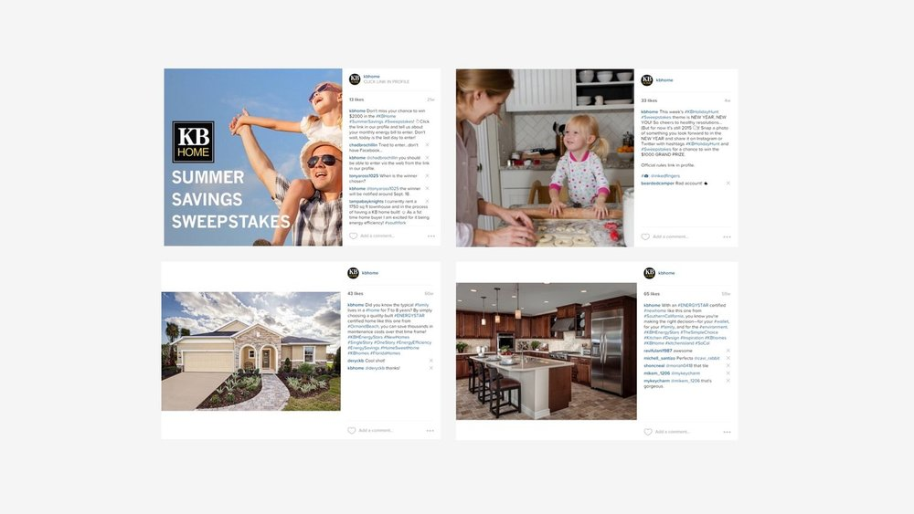 KB Home: Instagram Content Generation