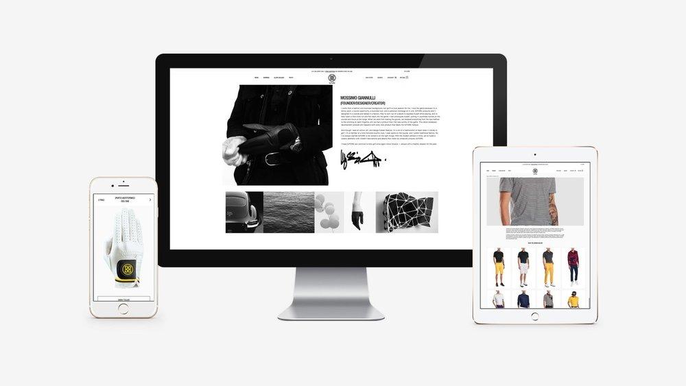 G/Fore: Magento E-Commerce Website Development