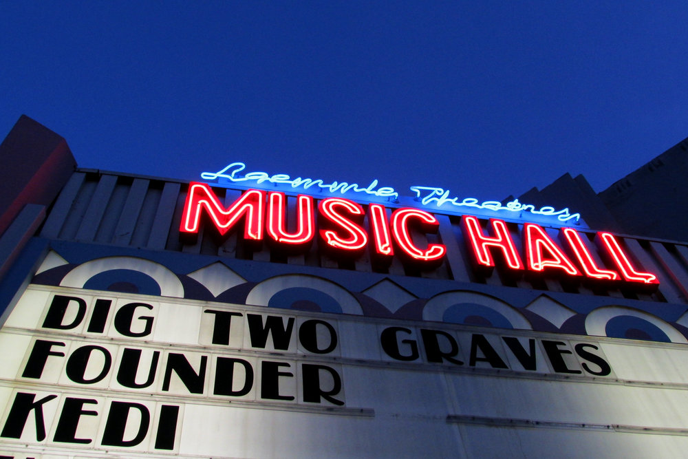 Dig Two Graves Los Angeles Premiere at  L aemmle Theater Music Hall