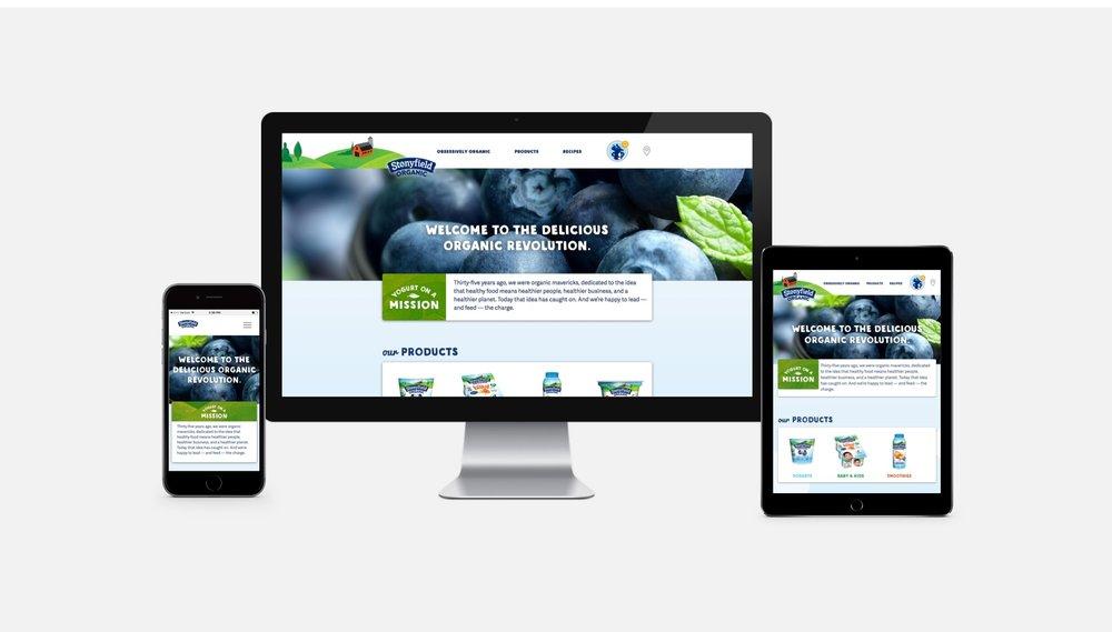 Stonyfield Organics: