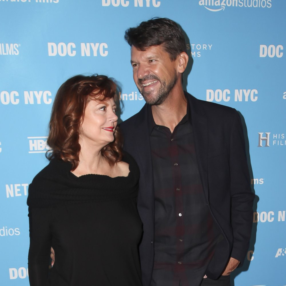 Actress Susan Sarandon and Director Thomas Morgan at DOC NYC for the premiere of Soufra.