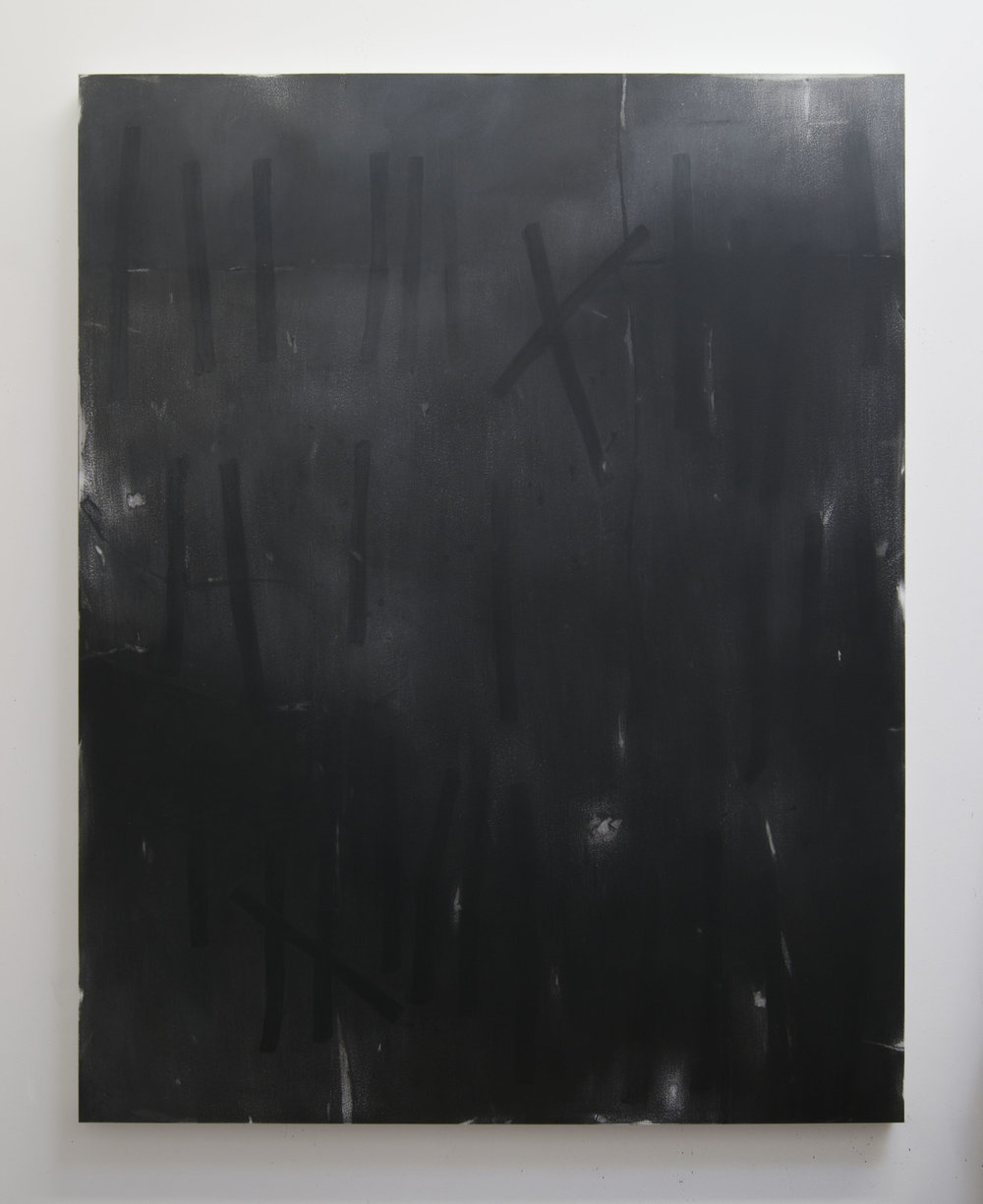 Long Gone, 2015  Acrylic on panel, 56 x 44 inches