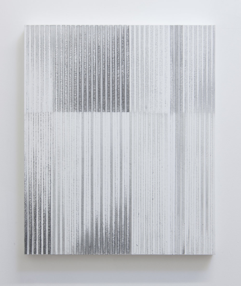 Bloodless Language III, 2014  Acrylic on panel, 24 x 20 inches
