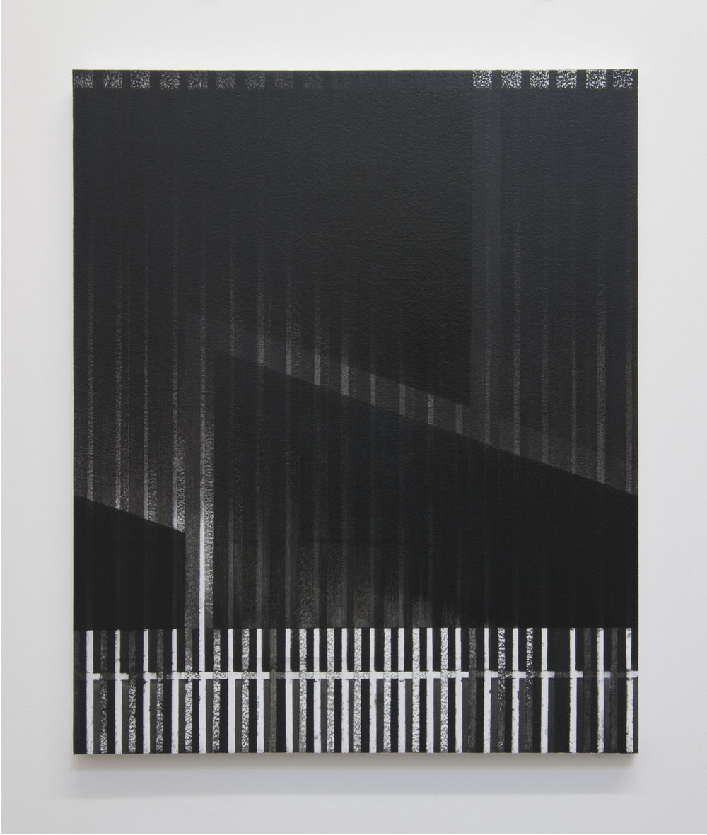 Facade, 2014  Acrylic on panel, 24 x 20 inches