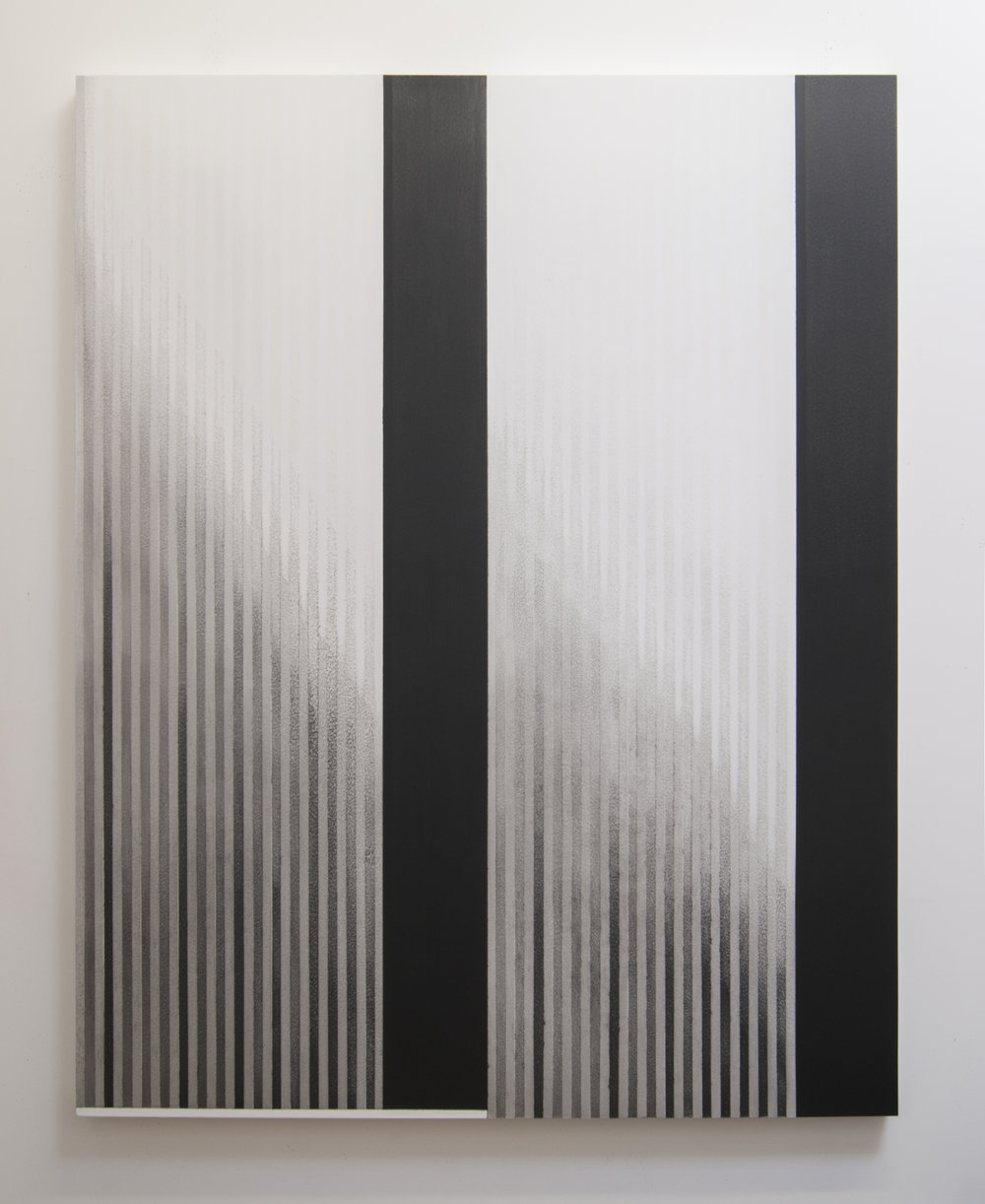 Zero Hour II, 2014  Acrylic on panel, 56 x 44 inches