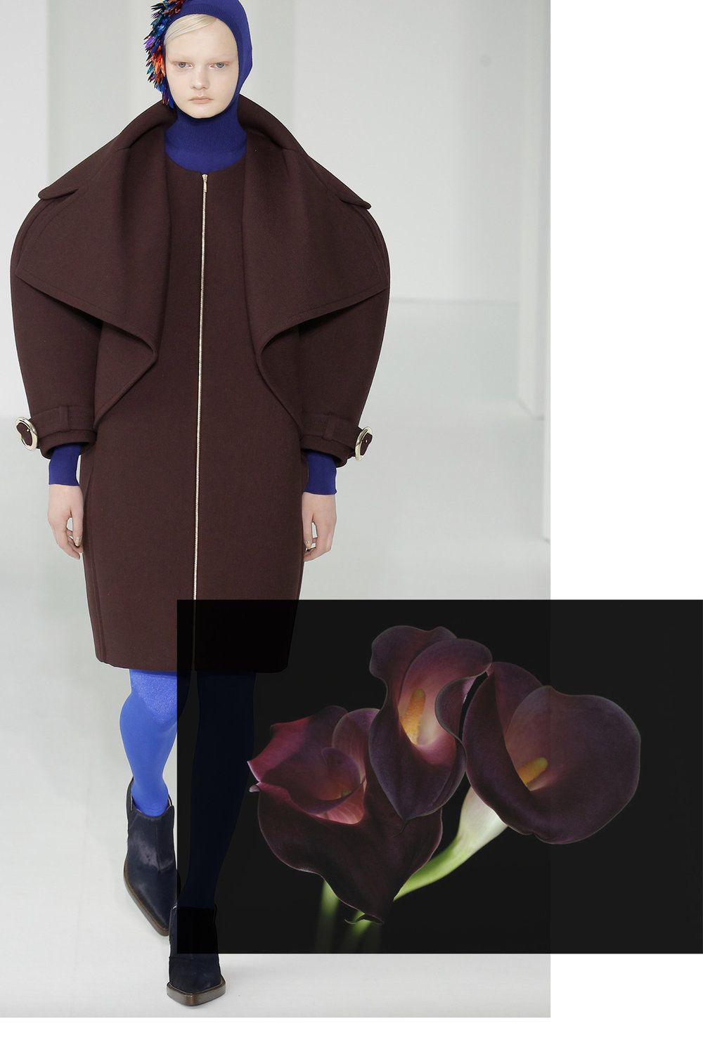 Delpozo paired with Calla Lily