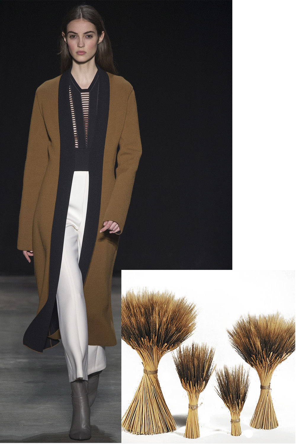 Narciso Rodriguez paired with Bear Wheat Grass