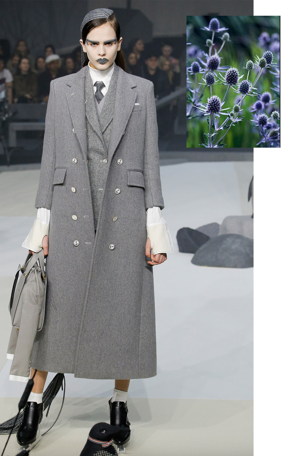Thom Browne paired with Thistle
