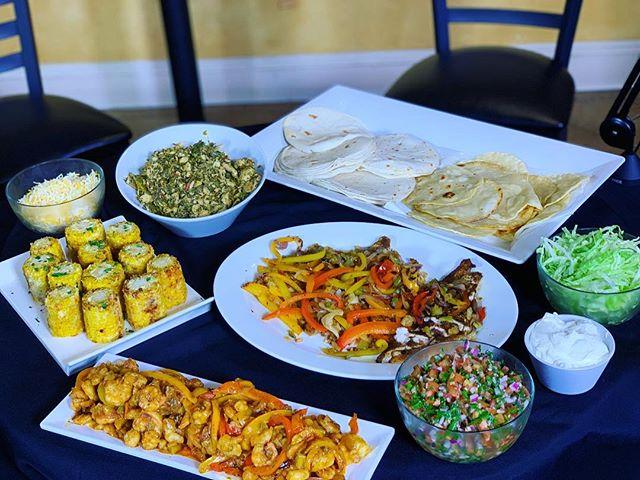 #TheFamilyMeal -Taco Monday: Sautéed Shrimp, Blackened Redfish, Blackened Catfish, Trinity Chicken, Elotes, Pico de Gallo, Flour and Corn Tortillas- #Simplicity . . . #TheFamilyMealPodcast #TheFamilyMealPod #Elote #tortilla  #Tacos #tacotuesday #tacoMonday #catering #nolacatering #nolacaterer #FoodPorn #shrimp #Redfish #Catfish #Fish #macandcheese #nola #yum #yummy #podcast #nolapodcast #NewOrleans #nolaChef #yum #followyournola