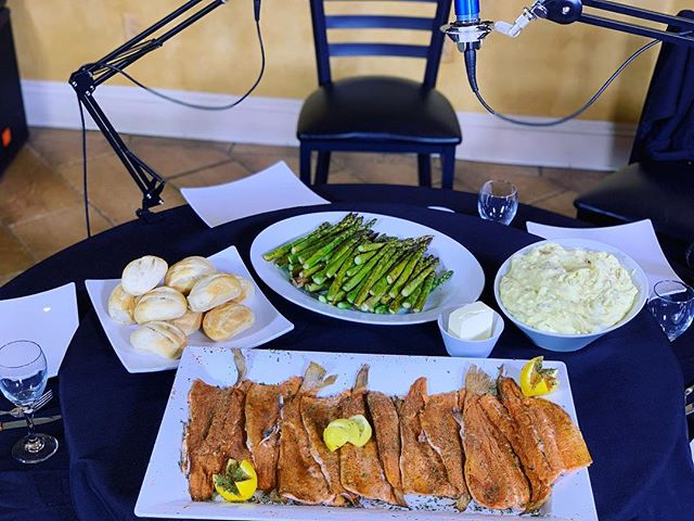 #TheFamilyMeal -Jerk Rainbow Trout, Roasted Garlic Mashed Potatoes, Balsamic Glazed Asparagus, Fresh Rolls- #Simplicity . . . #TheFamilyMealPodcast #TheFamilyMealPod #Local #JerkFish #JerkTrout #RainbowTrout #catering #nolacatering #nolacaterer #FoodPorn #Asparagus #balsamic #Fish #RoastedGarlic #MashedPotatoes #nola #yum #yummy #podcast #nolapodcast #NewOrleans #nolaChef #yum #followyournola