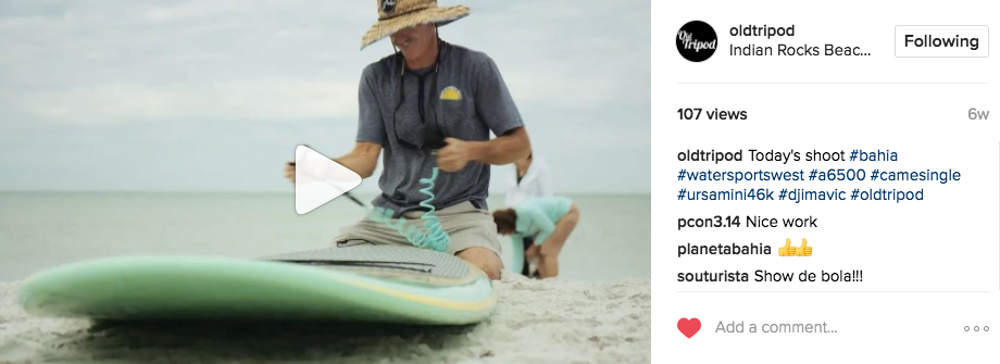 Charleston-based studio,  Old Tripod , leverages the power of video to create beautiful stories on behalf of their clients.