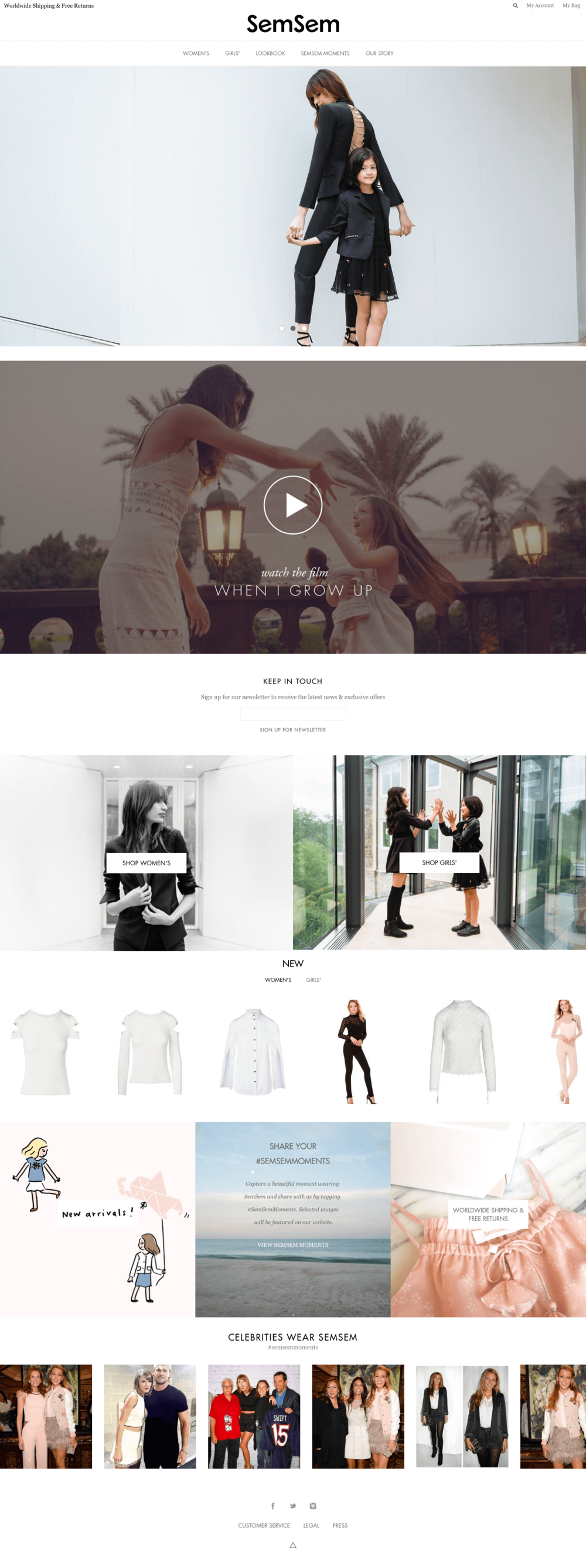 SemSem Official Website  Luxury Fashion.png