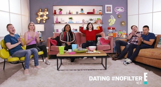 Got to design this fun set for @entertainmenttonight new show @datingnofilter! ❤️❤️❤️❤️❤️❤️ @omeedboghraty