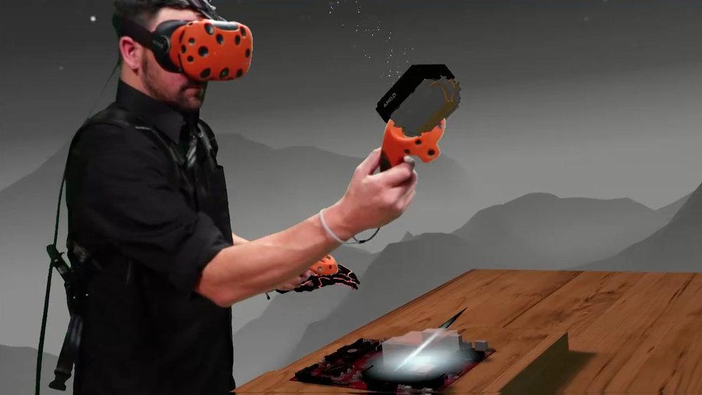 AMD VR Mixed Reality Screenshot