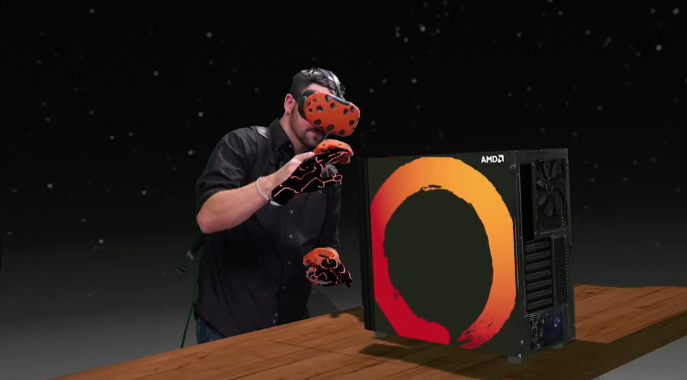 AMD VR game