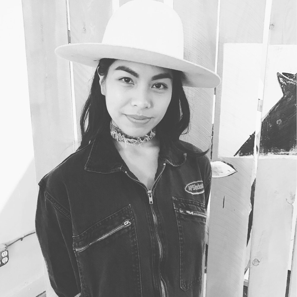 Monica Reyes co-founder + Art Director of Masculine de La FEMME, Co-Curates / Hosts Now Space Gallery's December 2016 Art Pop Up + Holiday Bazaar w/ Astrelle Johnquest