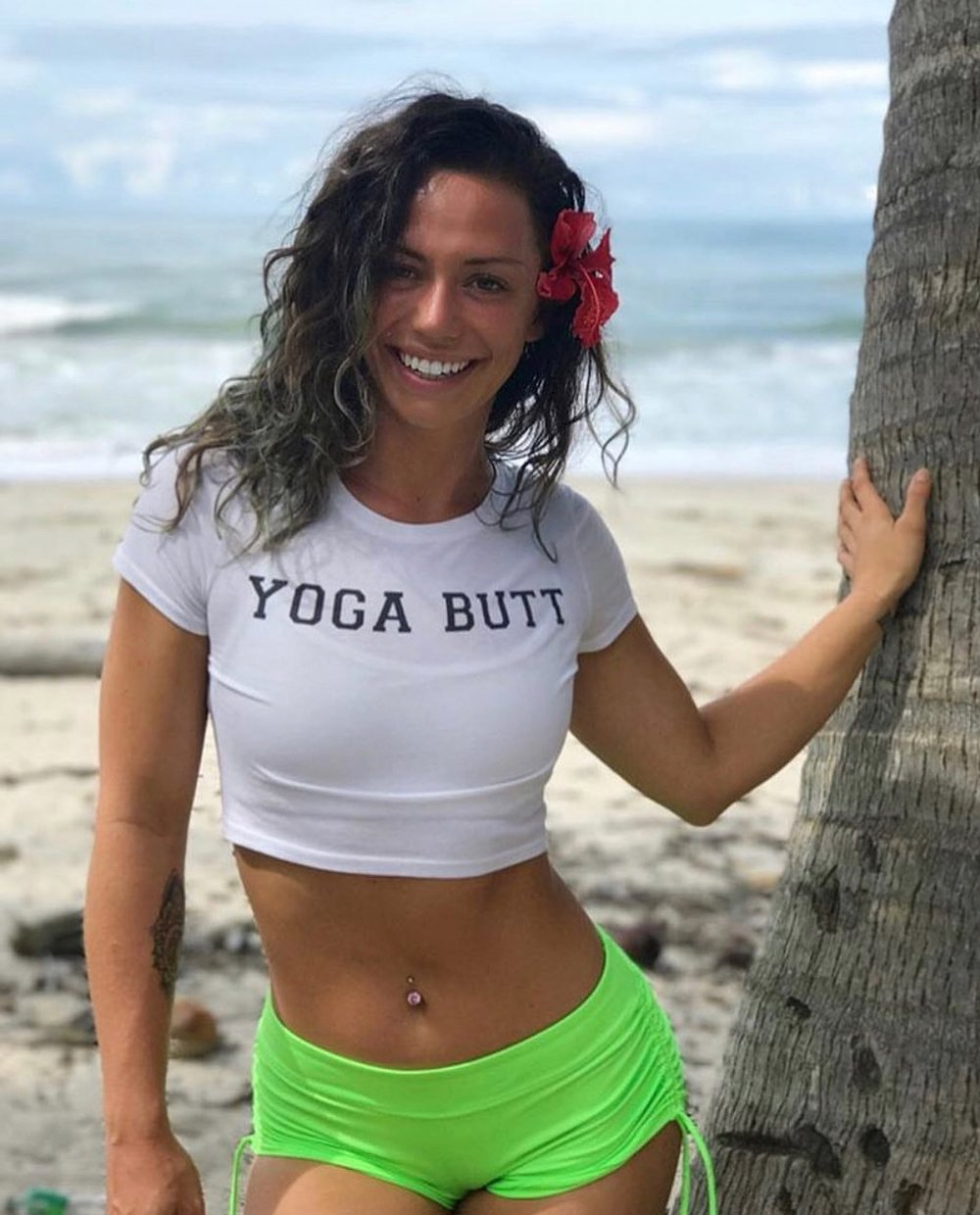 """Taylor Johnson, Acro Yoga & Yoga Teacher - Sup fam! It's ya girl Tay. I am beyond excited to be co-leading Namaste As Fuck takes Tulum with the NAF crew. My NAF fam is so special to me, and there's no one I'd rather be soaking up some Mexican sunshine with. NAF is all about tapping into the badassery we all have within us and being real AF in all the things we do. Whether yoga makes you want to scream """"FUCK THIS SHIT"""" or makes you see sunshine and rainbows everywhere, we are here for it. NAF is all about being your most authentic self and that is some shit I will ALWAYS get behind.So with that said come twerk, and yoga, and Acro, and play with me in Tulum bbs! Don't miss out and all the fun times and sunshine. Love you friends <3"""