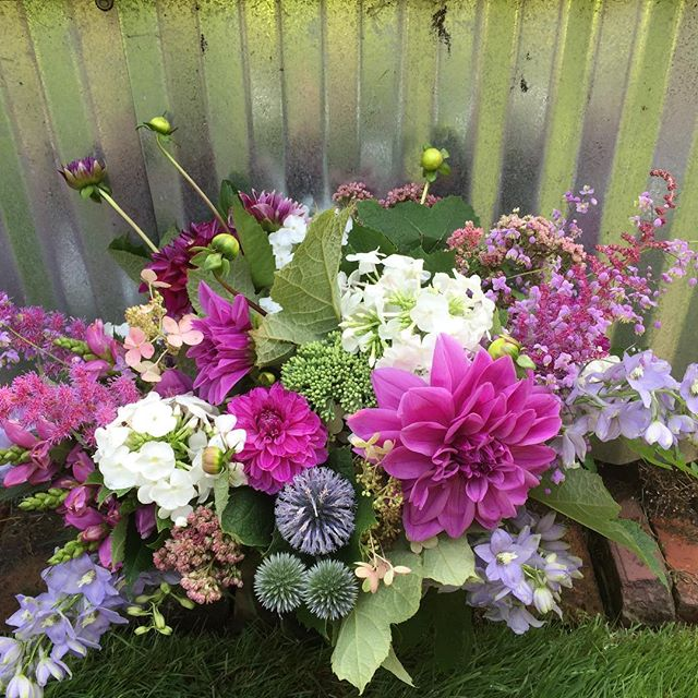 Marj's latest subscription bouquet creation