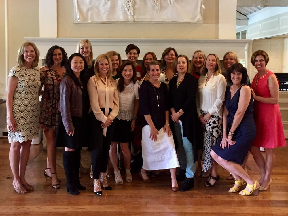 Eighth Grade Moms enjoyed the annual Mothers' Club luncheon.