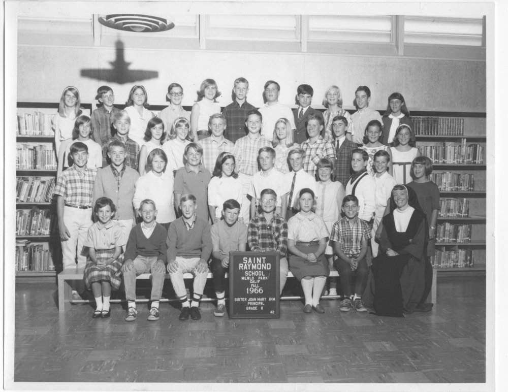 St. Raymond School Class of 1967 - 8th Grade class photo