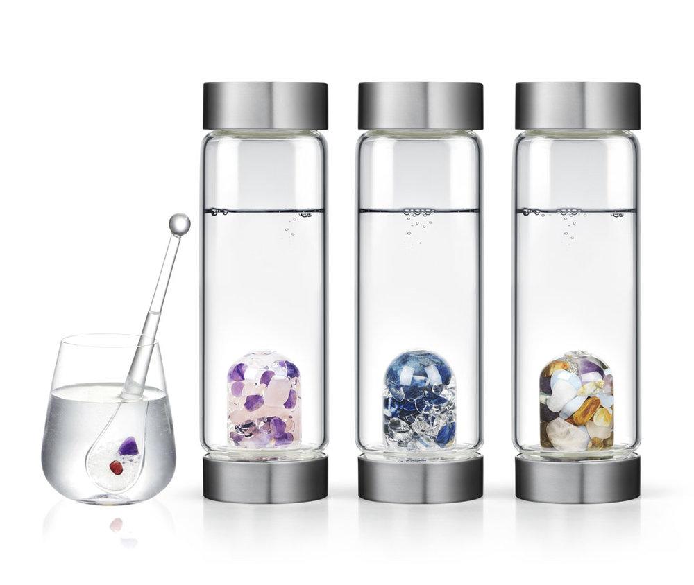 Gem-Water VitaJuwel ViA Water Bottles and Droplet