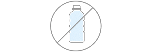 Use Gem-Water products to free yourself from plastic water bottles