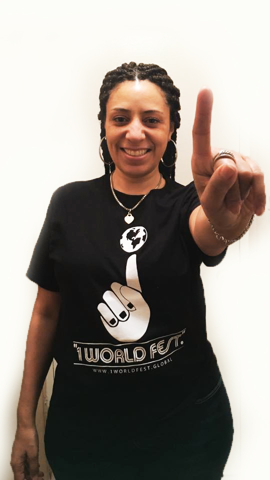 "The ""1WorldFest."" welcomes Lisa Angel Ray- a young woman of African American & Latino descent #GetToKnow1World"