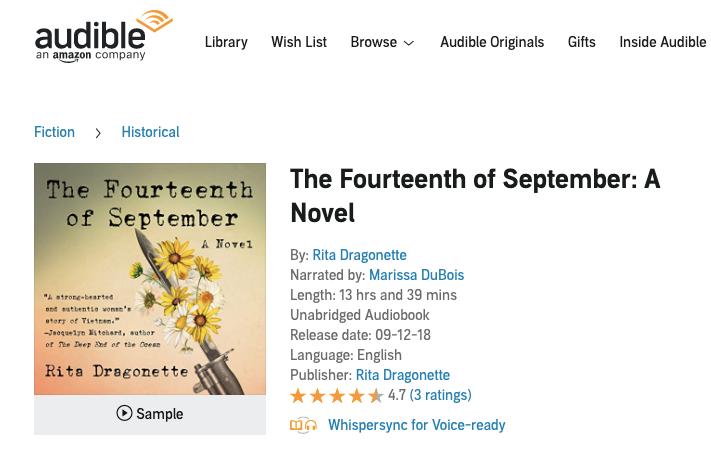 The Fourteenth of September — Dragonette