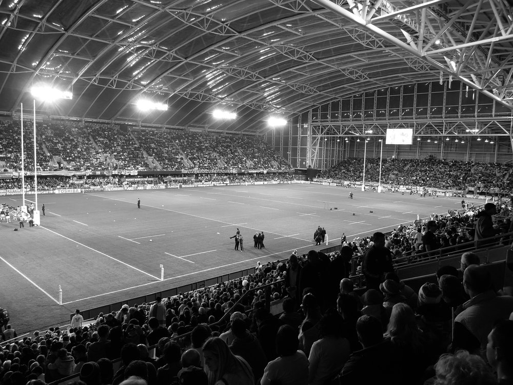 The worlds sporting arena