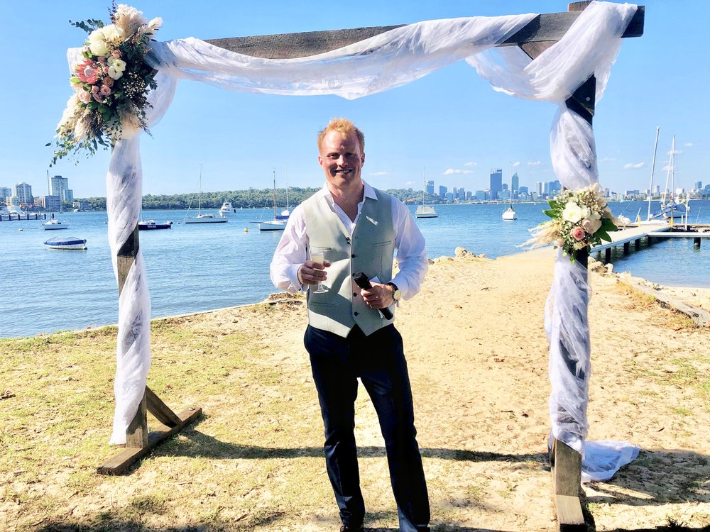 Perth celebrant marriage celebrant weddings
