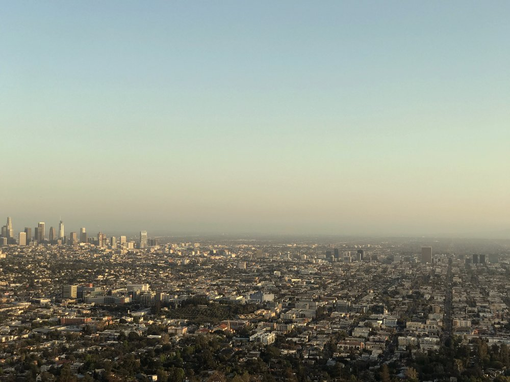 The View from Griffith Observatory